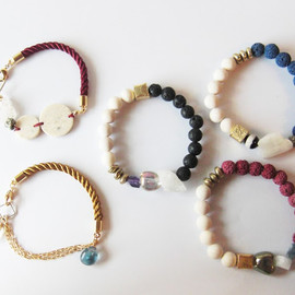 Rough'N'tumble - Autumn bracelet series