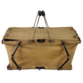 Folding Canvas Basket