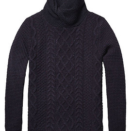 Scotch & Soda - Cable Knit Pullover