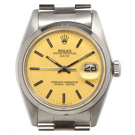 ROLEX - Stainless Steel Oyster Perpetual Date Wristwatch circa 1979