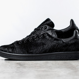 adidas, OPENING CEREMONY - Stan Smith calf-hair and leather sneakers