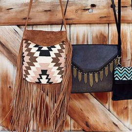 urban outfitters - Cleobella X UO Mers Beaded Fringe Crossbody Bag