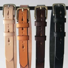 JABEZ CLIFF - LEATHER BELT  28mm