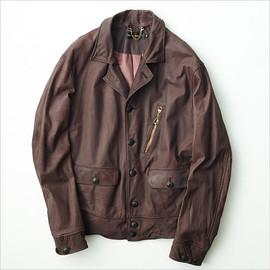 A VONTADE - Leather sport jacket II