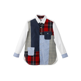TROPOPAUSE - Patchwork Shirt