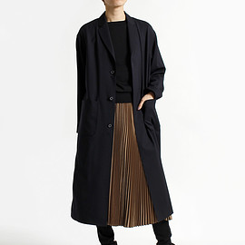 HYKE - WOOL SHOP COAT