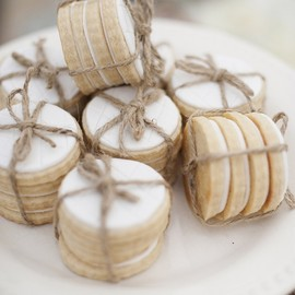 Cookies tied with Twine!