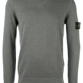Stone Island - thin knit sweatshirt