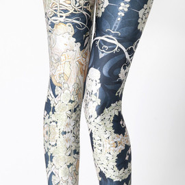 BLACK MILK - Mucha Black Leggings