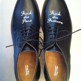 UNDERCOVER - LEATHER SHOES   FUCKTHEPASTFUCKTHEFUTURE
