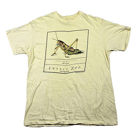 VINTAGE - Vintage 1983 Insect Zoo Grasshopper Shirt Made in USA Mens Size Medium