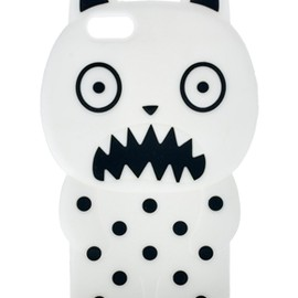 ASOS - ASOS Jelly iPhone 5 Case In Monster Style