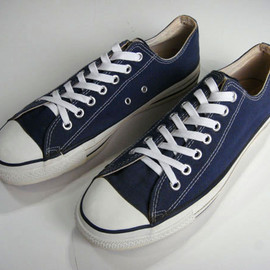 "CONVERSE - 90's ALL STAR ""NAVY"" CANVAS  OX"