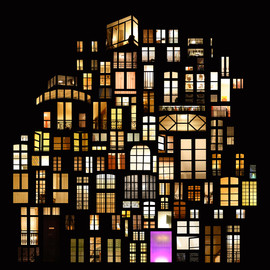 French artist - dream windows...