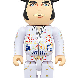 MEDICOM TOY - BE@RBRICK ELVIS PRESLEY 1000%