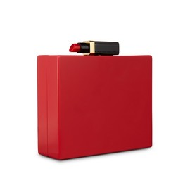 Lulu Guinness - Red Chloe Clutch