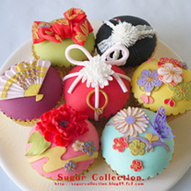 JILL's Sugar Collection - Japanese cupcakes