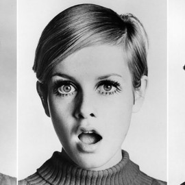 short hair - Twiggy