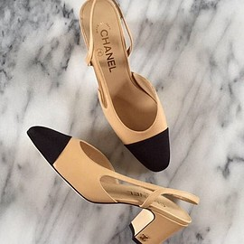 chanel - Slingback Pumps