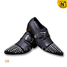 CWMALLS - CWMALLS Black Italian Leather Shoes CW751015