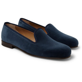 Stubbs & Wootton - Stubbs & Wootton Velvet Slippers