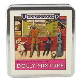 London Transport Museum - Dolly Mixtures Flat Tin