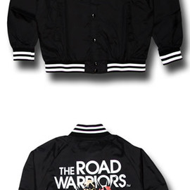reversal - THE ROAD WARRIORS NYLON STUDIUM JKT