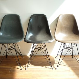 Eames - shell side chair dsr (Elephant Hide Grey)
