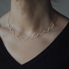 MAISON RUBUS - Skin jewelry - Ripples necklace | water pearl
