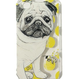 "TOKYO CULTUART by BEAMS - D[di:] / ""Pug and bee"" iPhone case (for iPhone4・4S)"