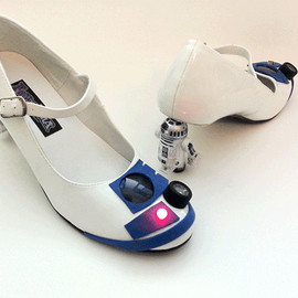 Mike Warren - Star Wars R2-D2 heels