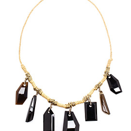 DRIES VAN NOTEN - SS2015 Stone Embellished Necklace