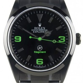 ROLEX, fragment design - Explorer