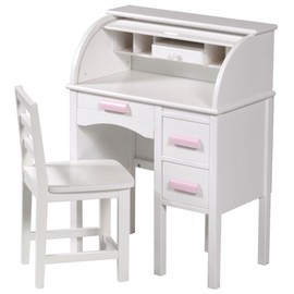 Guidecraft jr rolltop desk in white from Kid's playstore