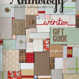 Anthology Magazine - Anthology Special Issue Holiday 2011