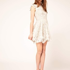 ASOS - Lace Skater Dress