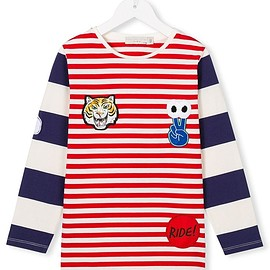 Stella Mccartney Kids - ボーダー柄 Tシャツ