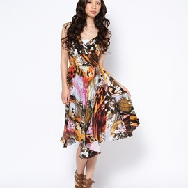 ROSE BUD - (TRAFFIC PEOPLE)FLUTTERBY FLE7353 BLOOM DRESS