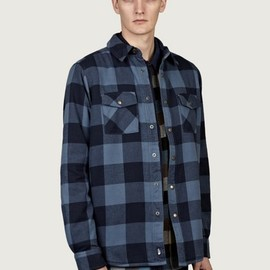 THE NORTH FACE - Men's Mountain Heritage Stone Cat Lined Flannel Shirt
