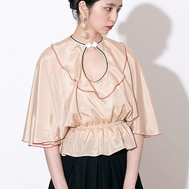 mother - silk blouse