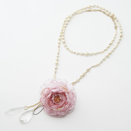 Ange Bloom - Pearl Long Necklace