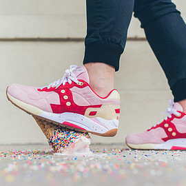 """SAUCONY - G9 Shadow 5 """"Scoops Pack - STRAWBERRY VANILLA"""""""