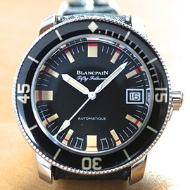 Blancpain - Fifty Fathoms Barakuda - Black/White/Silver