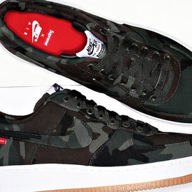 Supreme - Supreme x Nike Air Force 1 2012