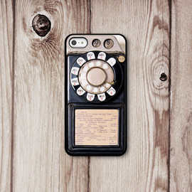 CasesByZoeMadison - Old Phone Iphone Case