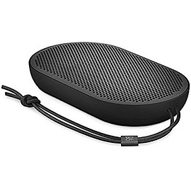 B&O PLAY by Bang & Olufsen - B&O PLAY by Bang & Olufsen Beoplay P2 Portable Bluetooth Speaker with Built-In Microphone, Black