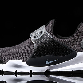 NIKE - Sock Dart SE - Dark Grey/White/Black
