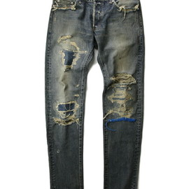 UNDERCOVER - Damaged Denim Pants (68 denim_zozo)
