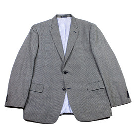 TOMMY HILFIGER - Tommy Hilfiger 2 Button Gray Cotton Sport Coat Jacket Mens Size 44R