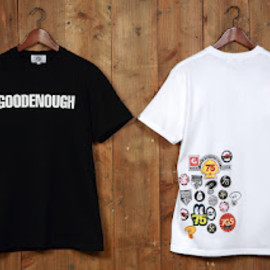 GOODENOUGH - ICONS TEE (blk, wht)